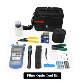 China Portable FTTH Fiber Optic Tool Kit , Network  Fiber Optic Installation Tool Kit factory
