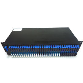 China AWG DWDM Mux DEMUX Wdm Multiplexer Cwdm Dwdm 40 Channel SC LC Connector Type factory