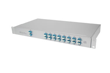 1U Rack DWDM MUX DEMUX For Reference Wavelength Division Multiplexer